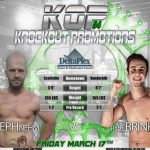 Ryse Brink vs Joe Nehm KOP 54 Friday, March 17 2017